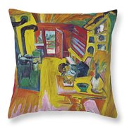 Alpine Kitchen Throw Pillow