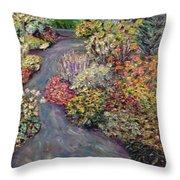 Amelia Park Pathway Throw Pillow