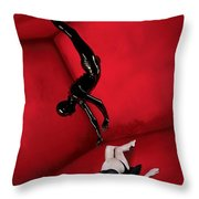 American Horror Story 2011 Throw Pillow