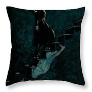 American Horror Story Asylum 2012 Throw Pillow