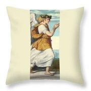 An Adoring Angel   Throw Pillow
