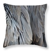 Angel Wings Throw Pillow