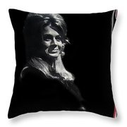 Angie Dickinson Young Billy Young 7 Old Tucson Arizona 1968-2013 Throw Pillow