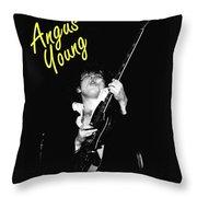 Angus In Spokane 2 Throw Pillow