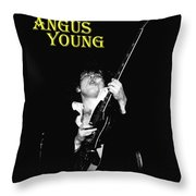 Angus In Spokane Throw Pillow