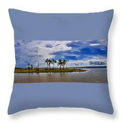 Animal Reserve Of Cuare Throw Pillow