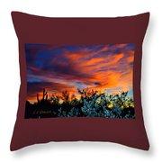 Arizona Sky Throw Pillow