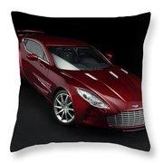 Aston Martin One-77 Throw Pillow