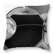 Automobile Of The Past Throw Pillow