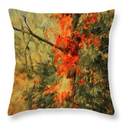 Autumn Landscape #4 Throw Pillow