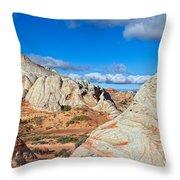 Az-paria Plateau-white Pocket Throw Pillow