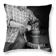 Azores Islands Pottery Throw Pillow