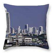 Bangkok Thailand Throw Pillow
