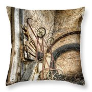 Barn Decor Throw Pillow