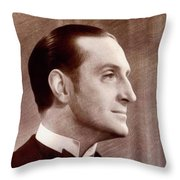 Basil Rathbone, Actor Throw Pillow