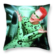 Batman Forever 1995  Throw Pillow