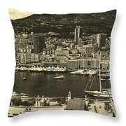 Beautiful Monte Carlo Throw Pillow