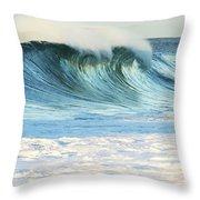 Beautiful Wave Breaking Throw Pillow