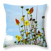 2 Bees Or Not 2 Bees Throw Pillow