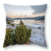 Belmeken Dam Throw Pillow
