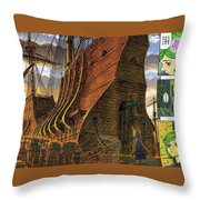 Berserk Throw Pillow