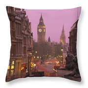 Big Ben London England Throw Pillow