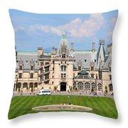 Biltmore House Throw Pillow