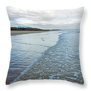 Binh Hai Beach, Quang Ngai Throw Pillow
