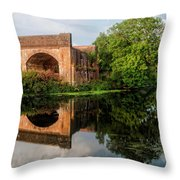 Blandford Forum - England Throw Pillow