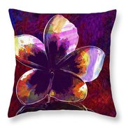 Blossom Bloom Flower White Yellow  Throw Pillow