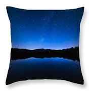 Blue Betsy Throw Pillow
