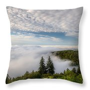 Blue Ridge Parkway. Throw Pillow