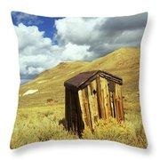 Bodie Outhouse Throw Pillow