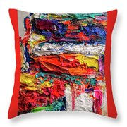 Boom Of The Tingling Strings Throw Pillow