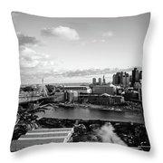 Boston Sunset Throw Pillow