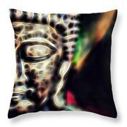 Buddah Collection Throw Pillow