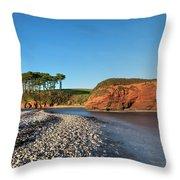 Budleigh Salterton - England Throw Pillow
