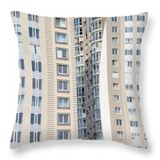 Building Construction Throw Pillow
