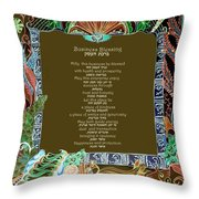 Business Blessing Throw Pillow