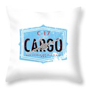 C-17 Cargo Throw Pillow