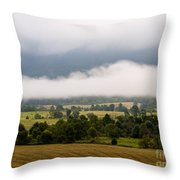 Cades Cove. Throw Pillow