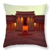 California Palace Of The Legion Of Honor Throw Pillow