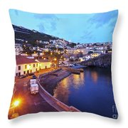 Camara De Lobos, Madeira Throw Pillow