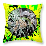 Cannabis 420 Collection Throw Pillow