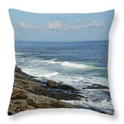 Cape Elizabeth, Maine Throw Pillow