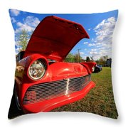 Car Grille Throw Pillow