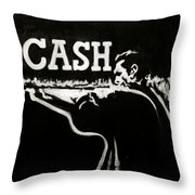 Cash Throw Pillow