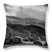 Castlerigg Stone Circle Throw Pillow