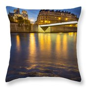 Cathedral Notre Dame - Paris Throw Pillow