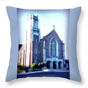 Cathedral Of The Annunciation 2 Throw Pillow